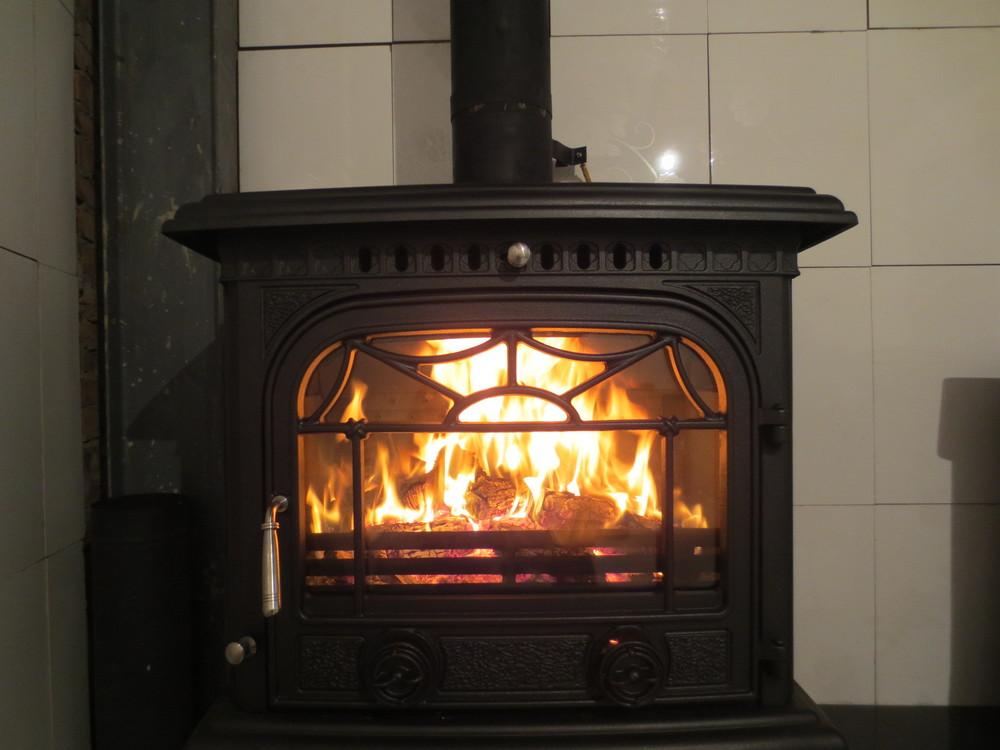 Popular Decorative Cast Iron Wood Burning Stove View Cast