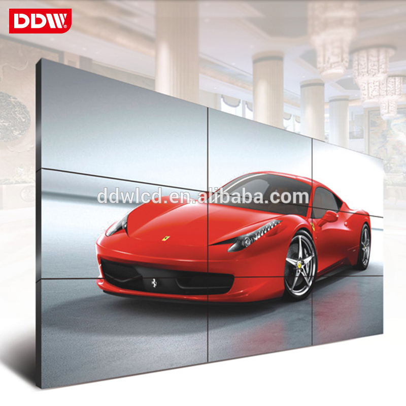 High Quality Stainless Steel lcd video wall for tv splicing show