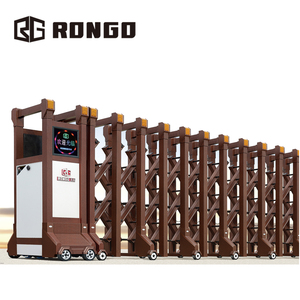 Rongo electric wheel industrial sliding entrance driveway gate designs