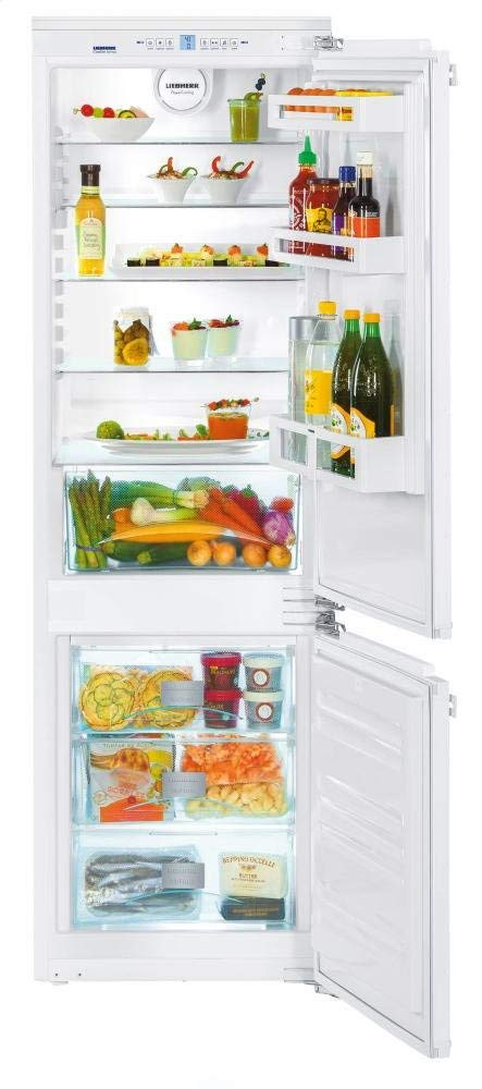 "Liebherr HC1030 22"" Built-In Fully-Integrated Bottom-Freezer Refrigerator with 9.4 cu. ft. Capacity, 4 Glass Shelves, 3 Door Bins, 1 Produce Drawer and 3 Sealed Freezer Drawers"