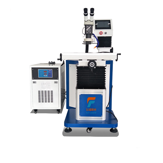 Fly laser 500w handheld yag laser welder stainless steel pipe railing manual laser welding machine/molds welding machine