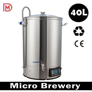 40L alcohol beer brewing equipment/ 30L Guten beer mash tun/ china machine