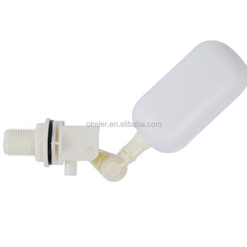 "DN15 1/2"" Size Plastic Adjustable Float Valve Switch fr Water Tank Humidifiers"