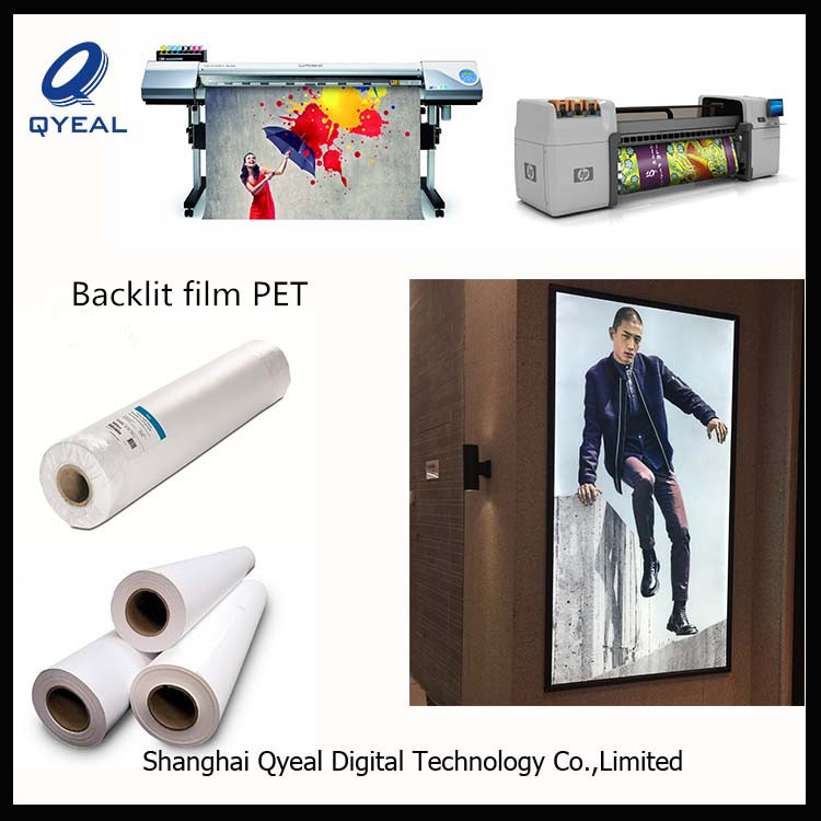 Best selling quality ad use glossy polyester film