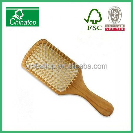 hair comb massage brush/professional wood hair brush