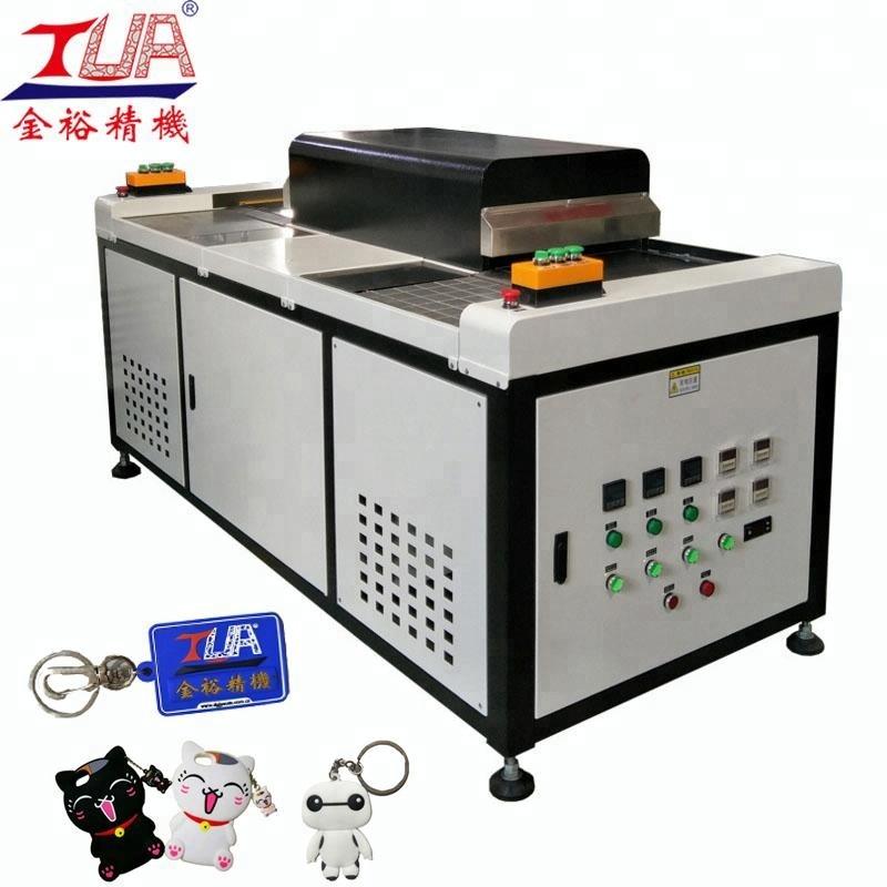 guangdong pvc key tag/pvc logo making machine