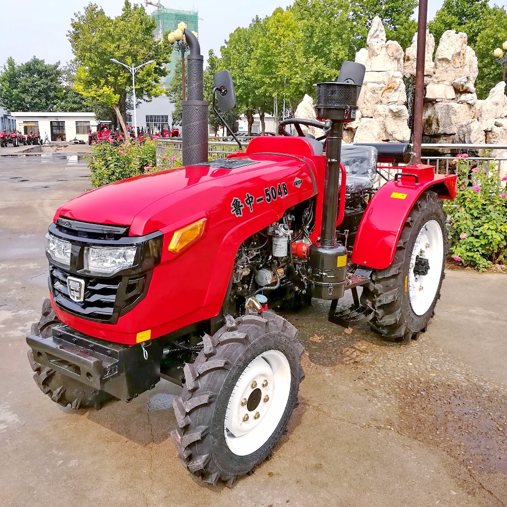Chinese cheap mini farm tractor with ROPS and Canopy