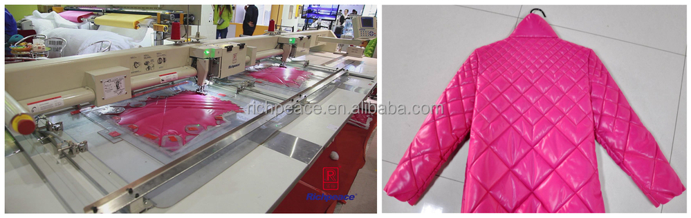Automatic Industrial Long Arm Template Sewing Machine