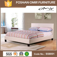 Fabric Cover Bed Design African Bedroom Furniture