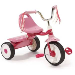 Radio Flyer Ready-To-Ride Folding Tricycle, Pink