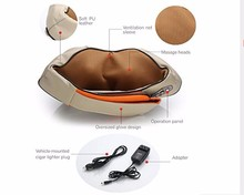 Back Pain Relief Massage Machine Portable Electric Massager Pillow 4D Shiatsu Kneading Neck Shoulder Back Foot Massage Tools