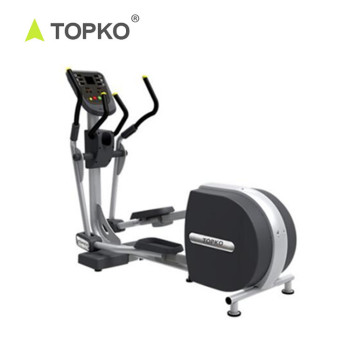 TOPKO Wholesale New Product Fitness Exercise Equipment Custom logo Monitor Lightweight Elliptical