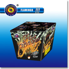 "DC1525E 1.2"" 25S Fire Dragon Wholesale Consumer Cake Fireworks"