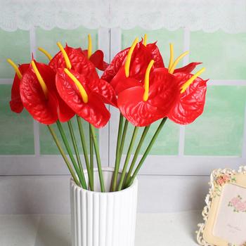 Unique En Plastique Fleur Anthurium Proche De Silicium Naturel Fleur Buy Anthurium Fleur Fleur En Plastique Fleur De Silicium Product On Alibaba Com