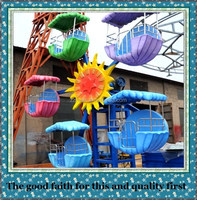 More than 10 years experience in children kid ride mini ferris wheel parachute