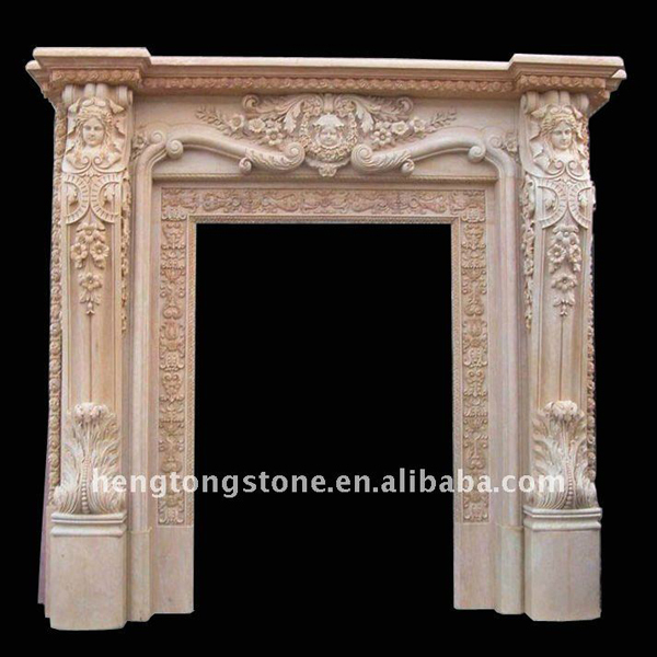 Hand carved marble stone decorative door frame design Granite a frame plans