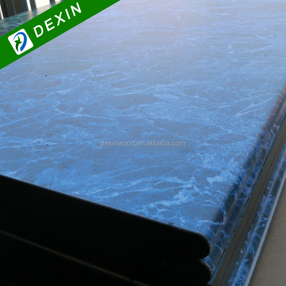 HPL Colored Blue Marble Table Top/Countertop/Work Top/Kitchen Top ...