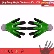 Full Dipped Double Nitrile Coated Cut Resistant Safety Gloves