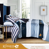KOSMOS Bedding Luxury King Bedding Set Cotton Duvet Cover Printed India Duvet Covers