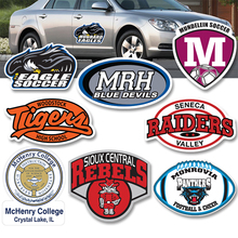 OEM Vinyl Die Cut Waterproof Custom Car Stickers For Cars Body