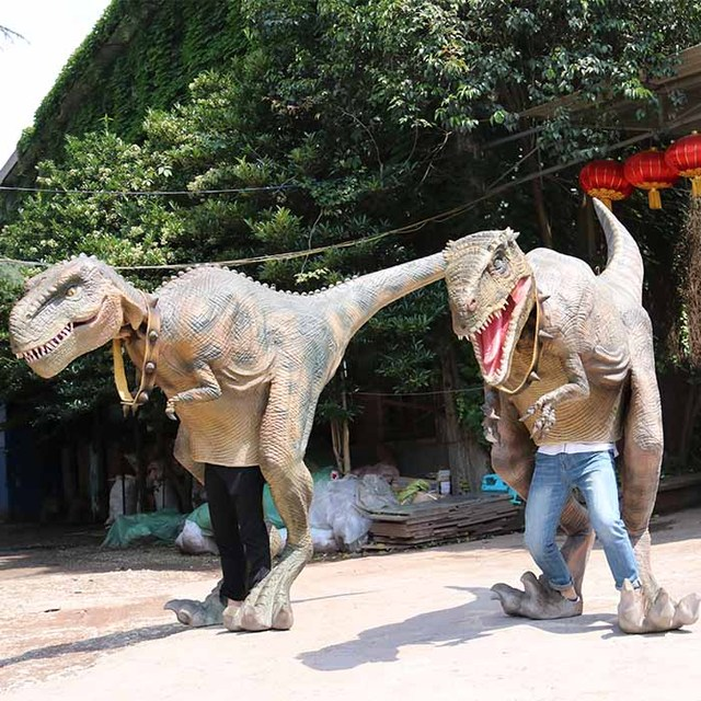 Playground Life Size T-rex Dinosaur Cosplay Costume for Sale