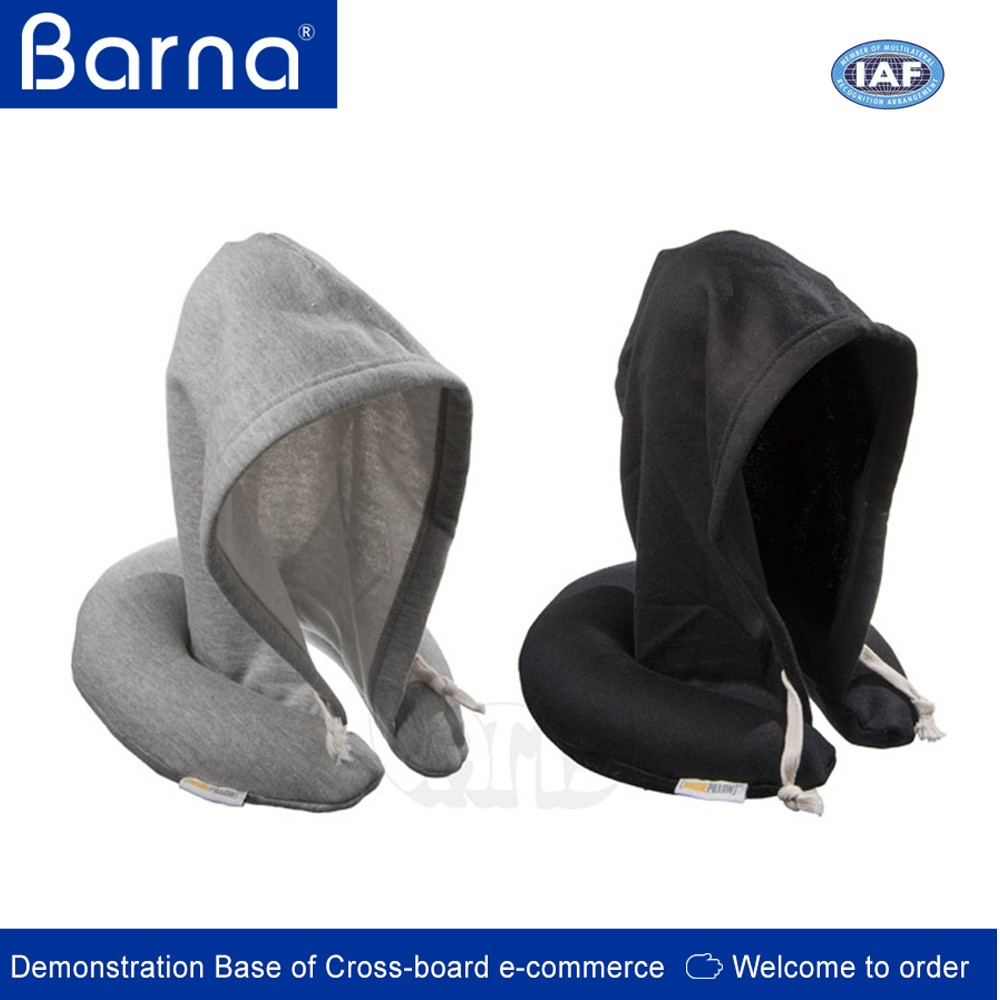 New Style U Shape Travel Pillow With Hat Hooded Travel