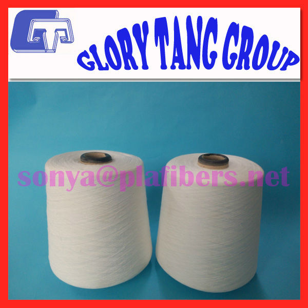 Ne24 single pla spun yarn for biodegradable teabag thread