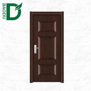 alibaba china hot sale american panel steel door standard size of main gate