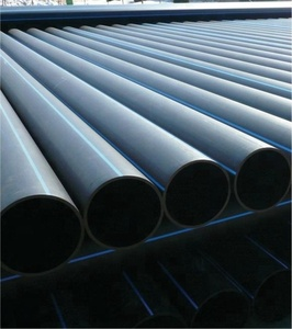 Blue stripe hdpe pipe for water supply
