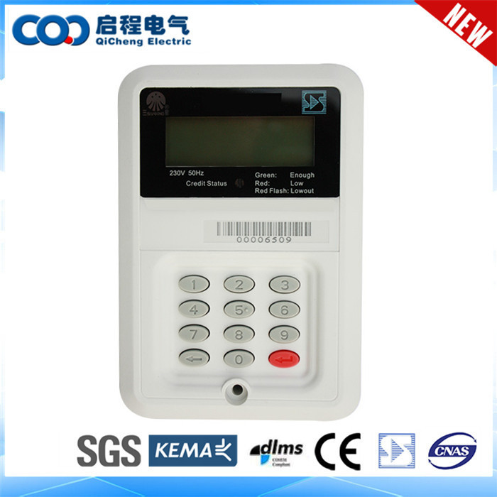 Convenient Installation single phase sts split keypad prepaid meter