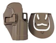 Тактический тренировочный охотничий кобура для левого правого ружья для Глок 17/HK/USP/1911/P226/M9 Черный Цвет поясной кобура для мягкой пневматики(Китай)