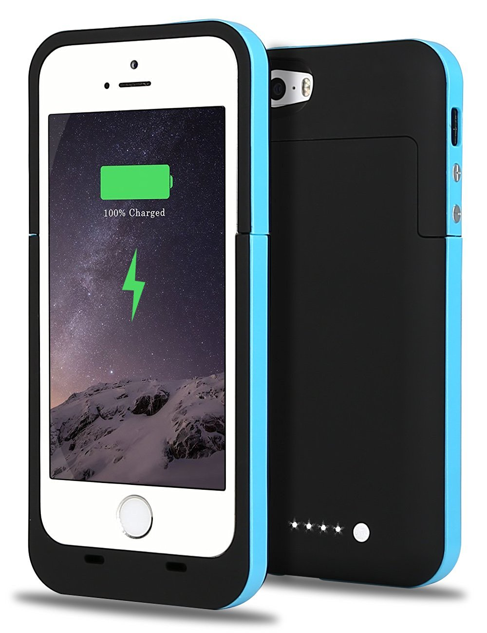 save off 25e35 a4217 iPhone 5S Battery Case, iPhone SE Battery Case, JIUNAI iPhone 5S Portable  Charger Recharge External Power Bank Charging Case 2500 mAh Battery Backup  ...