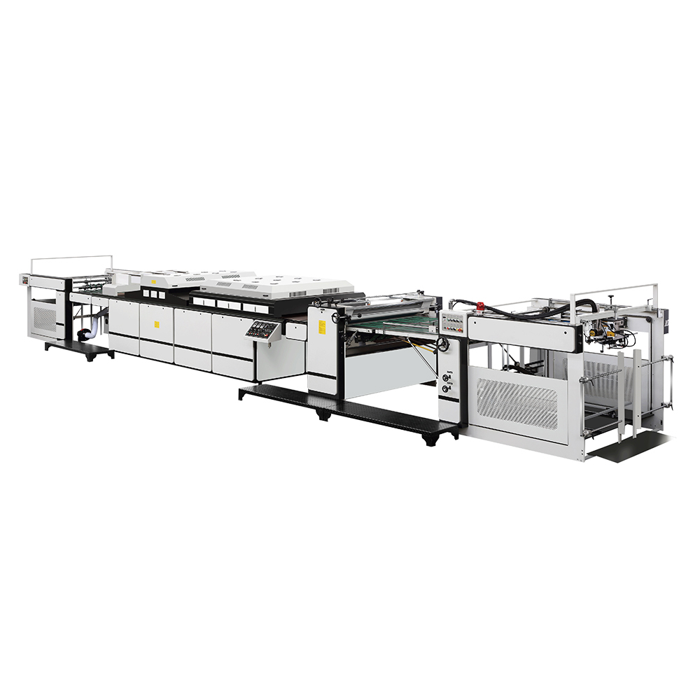 MSSE-1200A Automatic Overall UV Varnishing Machine