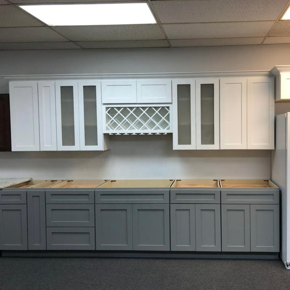 RTA solid wood kitchen <strong>cabinets</strong> design from China factory