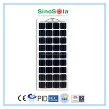 180w Transparent BIPV solar pv module,solar panel for home and building