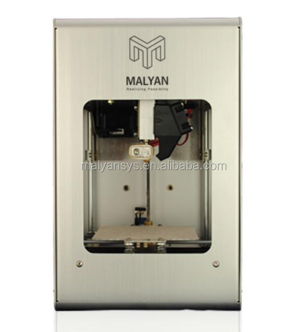 2017 New Malyan 3d desktop <strong>printer</strong> with support Cura/repetier-Host /3D builder