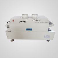 Puhui factory original SMT T-961 benchtop LED new light source reflow oven for leadfree soldering