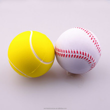 eco friendly biodegradable pu stress tennis anti stress ball
