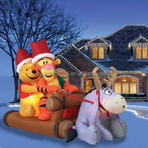 Holiday inflatables Floating Santa Claus For Decoration