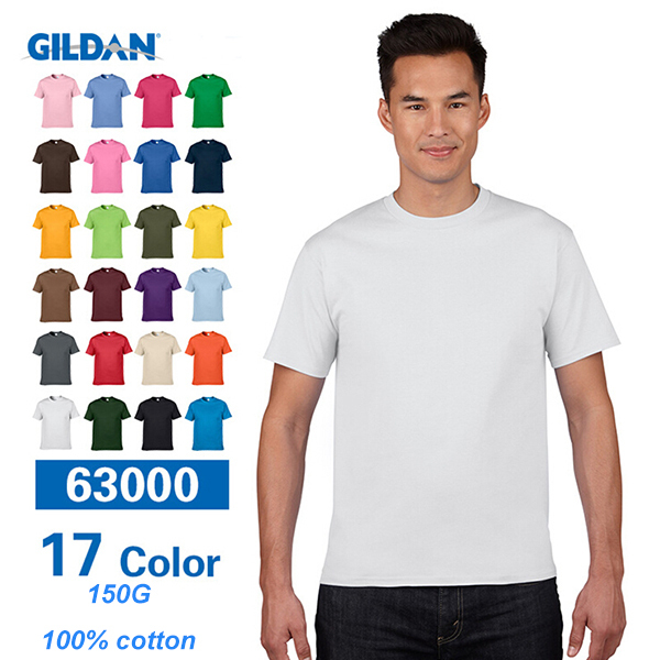 Gildan Bulk Plain T-shirt,Cheap Plain Black T-shirts,Plain Black T ...