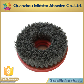 round stone polishing silicon carbide abrasive brush