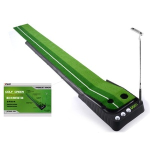 High quality Ball Return Practice Putter indoor golf green Putting Mat