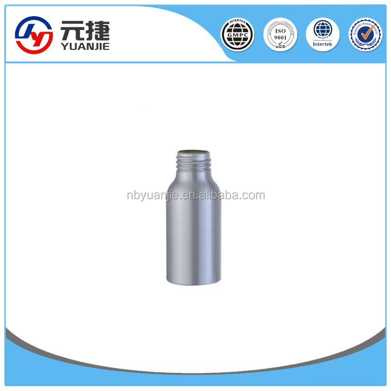 30ml-100ml Natural aluminum dropper bottle for e-liquid