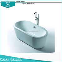 Factory price free standing walk in shower baths BA-8513