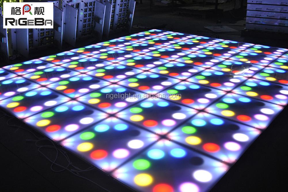 Super Brightness Diy Effect Colorful Digital Led Dance Floor Buy - How to make a lighted dance floor