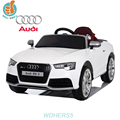 WDHEXRS5 Licensed Audi RS5 2016 New Electric Car For Kids With Remote Control, Leather Seat Power Display 2 Door Open