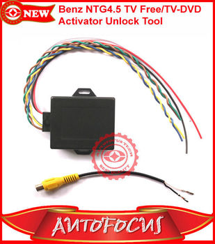 Tv Free/tv-dvd Activator Unlock Tool Support Benz Ntg 4.5/w212 ...