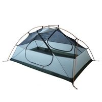 Best seller Double layers Automatic Open lightweight 2 man aluminum pole outdoor camping tent