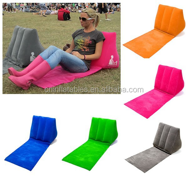 Popular Design Wedge Back Support Cushion Inflatable Wedge Travel