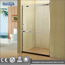 America hotel project popular design shower screen two sliding door shower stall